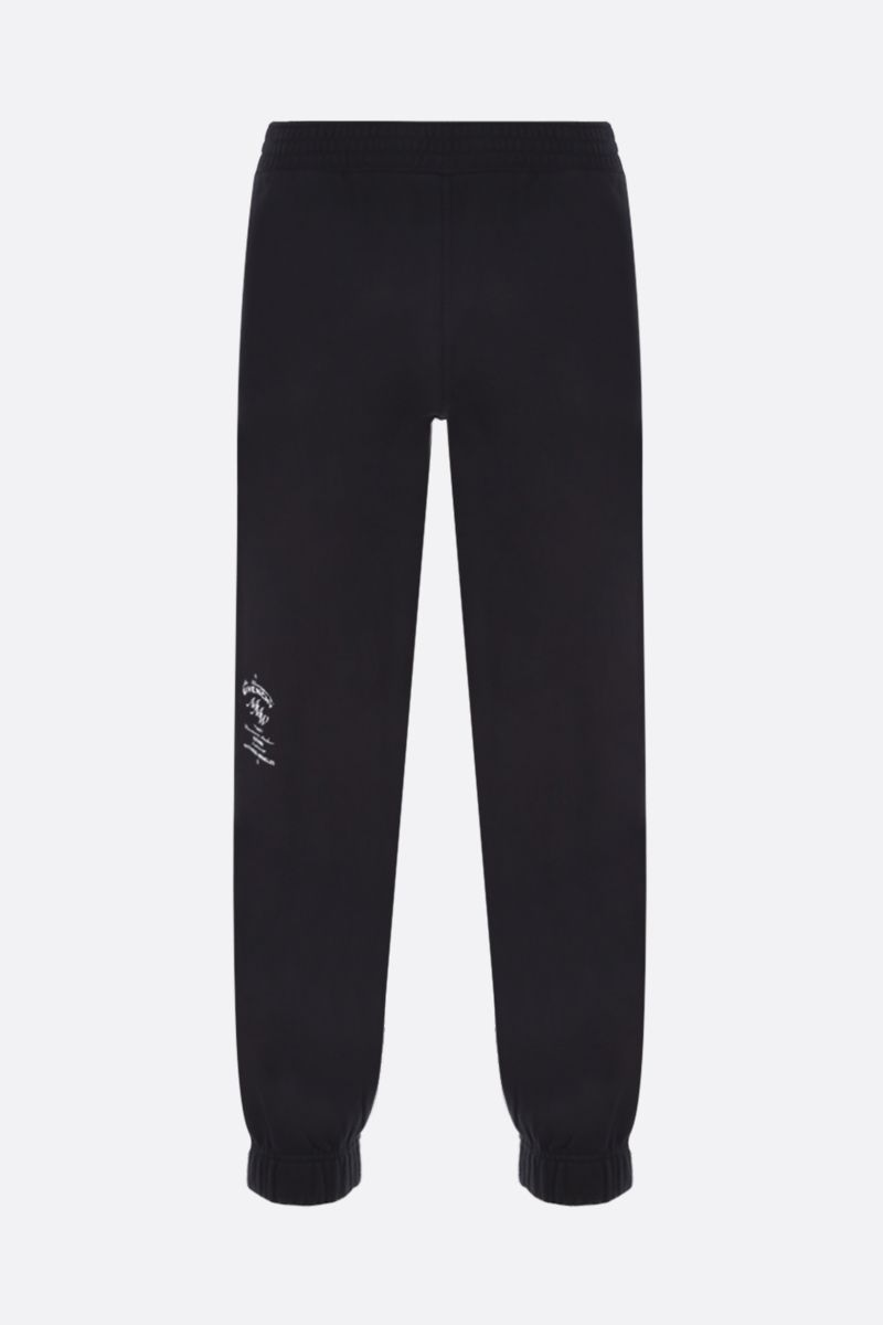 GIVENCHY: Givenchy MMW cotton joggers Color Black_1
