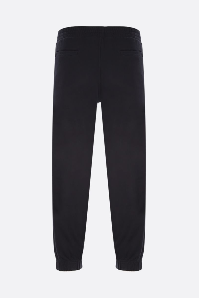 GIVENCHY: Givenchy MMW cotton joggers Color Black_2