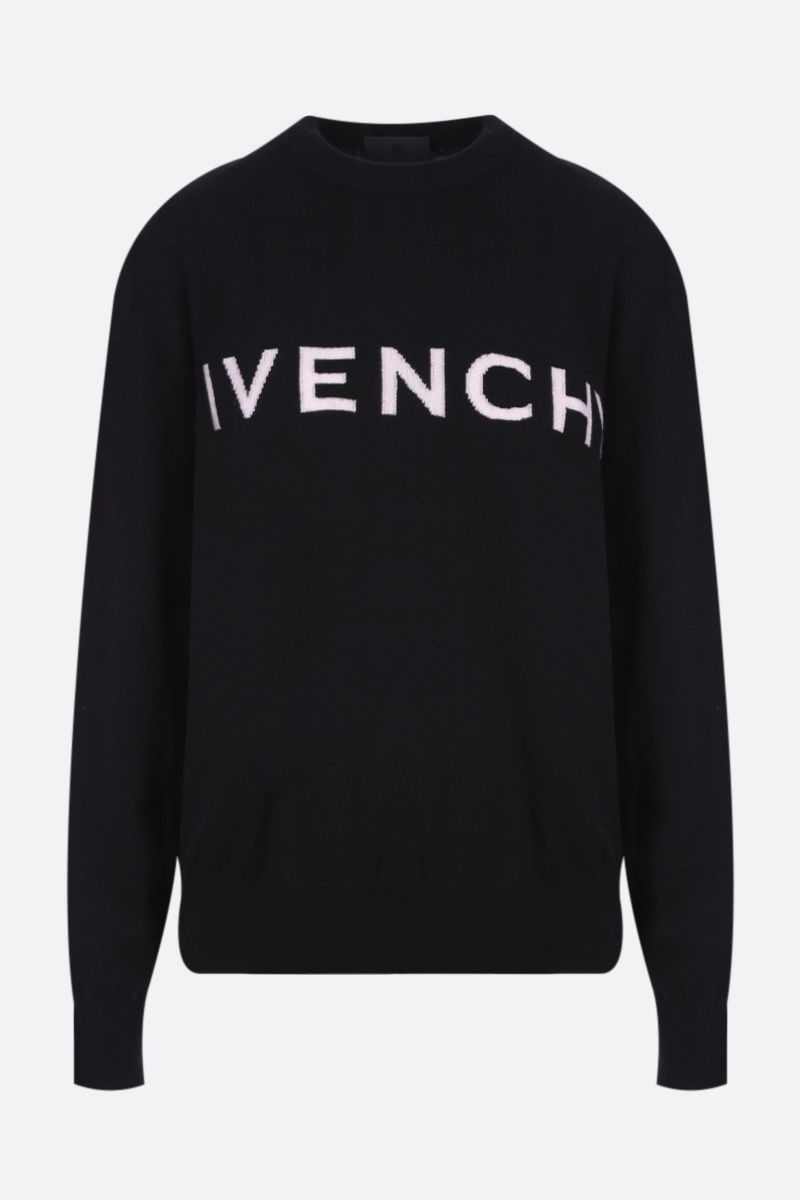 GIVENCHY: Givenchy 4G cashmere pullover Color Black_1