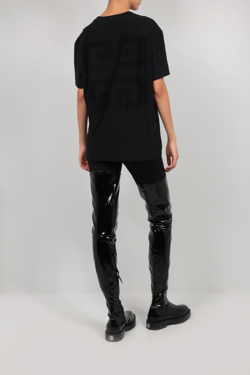 GIVENCHY: Givenchy cotton t-shirt Color Black_2