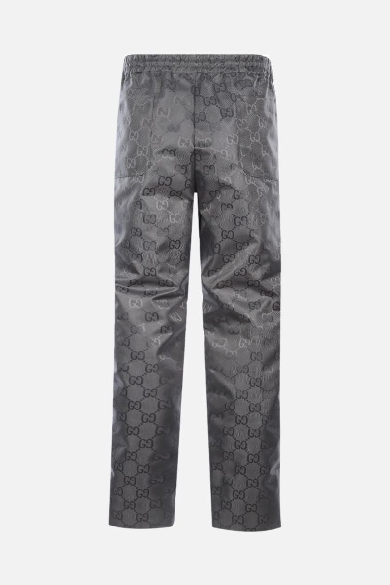 GUCCI: Off The Grid pants in GG nylon Color Grey_2
