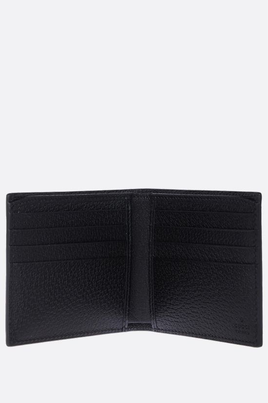 GUCCI: GG Marmont grainy leather billfold wallet Color Black_2