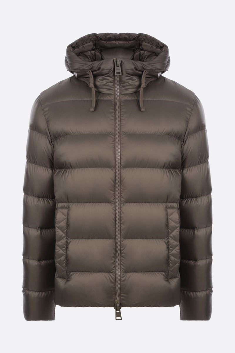 HERNO: Globe Fast5Degradable nylon down jacket Color Green_1