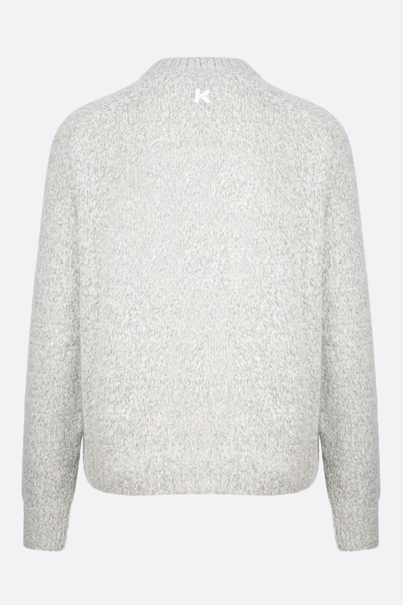 KENZO: cashmere blend pullover Color White_2