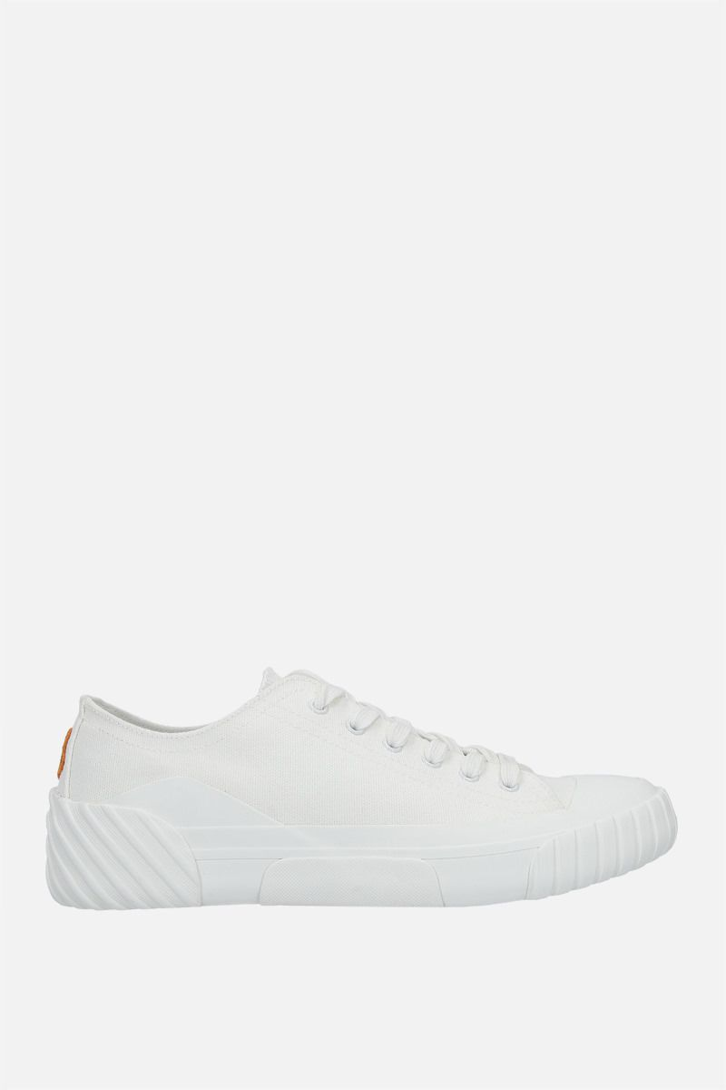 KENZO: Tiger Crest canvas sneakers Color White_1