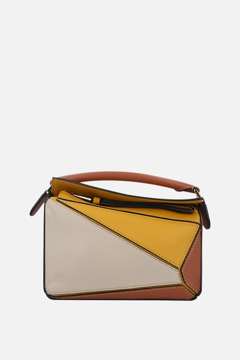 LOEWE: Puzzle mini top handle bag in Classic leather_1