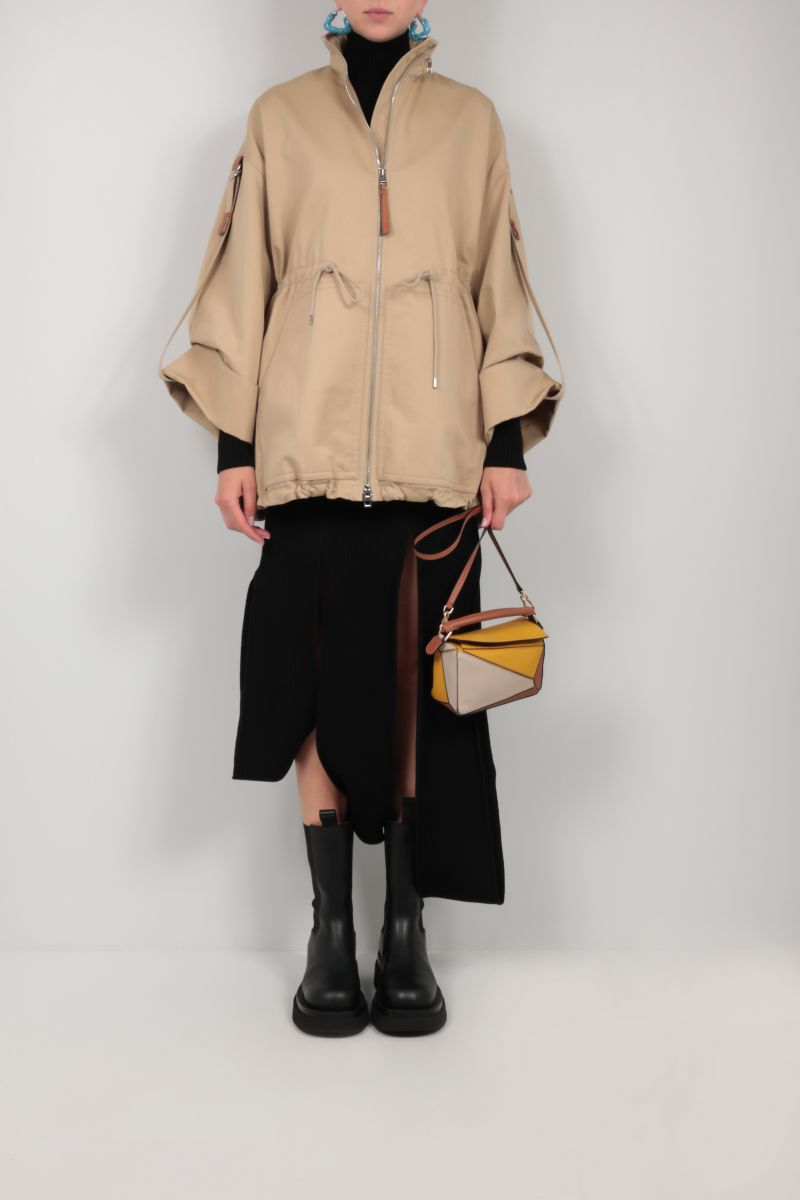 LOEWE: Puzzle mini top handle bag in Classic leather_2