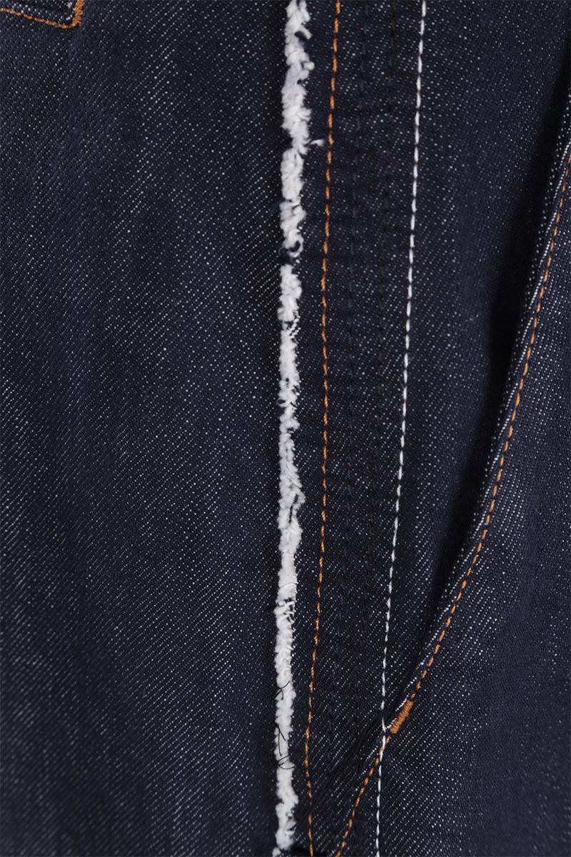 LOEWE: jeans oversize Colore Blue_3