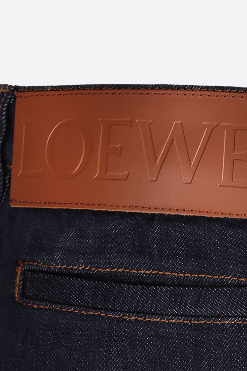 LOEWE: jeans oversize Colore Blue_4
