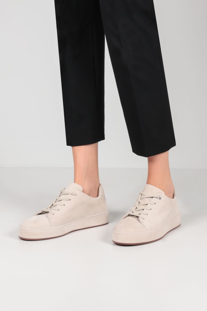 LORO PIANA: Nuages suede sneakers Color Neutral_2