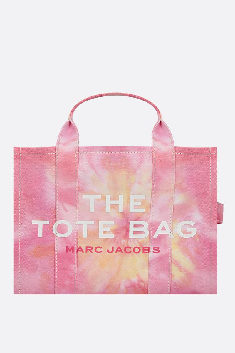 MARC JACOBS: The Tie Dye small canvas tote bag Color Pink_1