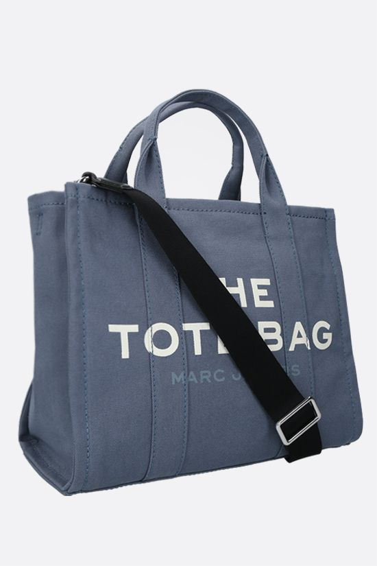 MARC JACOBS: The Traveler small canvas tote bag Color Blue_2