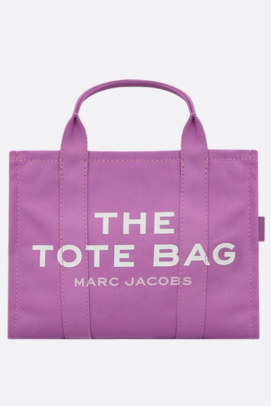 MARC JACOBS: The Traveler small canvas tote bag Color Pink_1