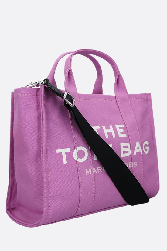 MARC JACOBS: The Traveler small canvas tote bag Color Pink_2