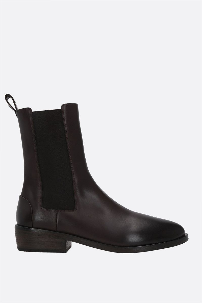 MARSELL: smooth leather beatles boots Color Brown_1