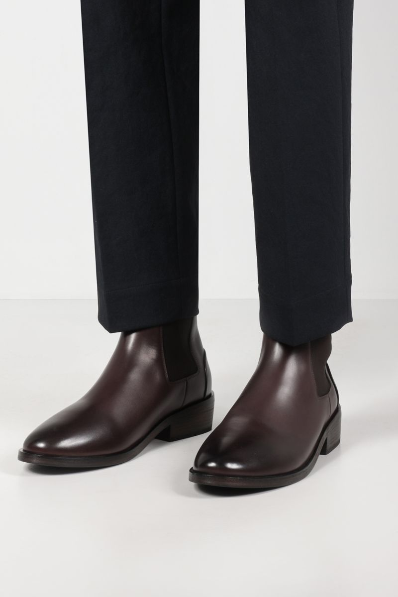 MARSELL: smooth leather beatles boots Color Brown_2