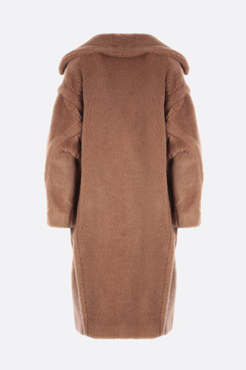 MAX MARA: Teddy camel double-breasted coat Color Brown_2