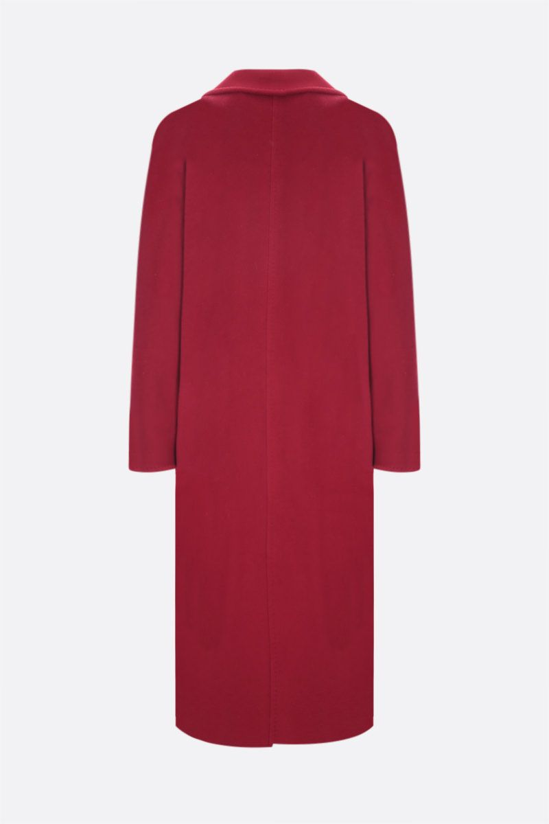 MAX MARA: 3Madame double-breasted cashmere wool blend coat Color Red_2