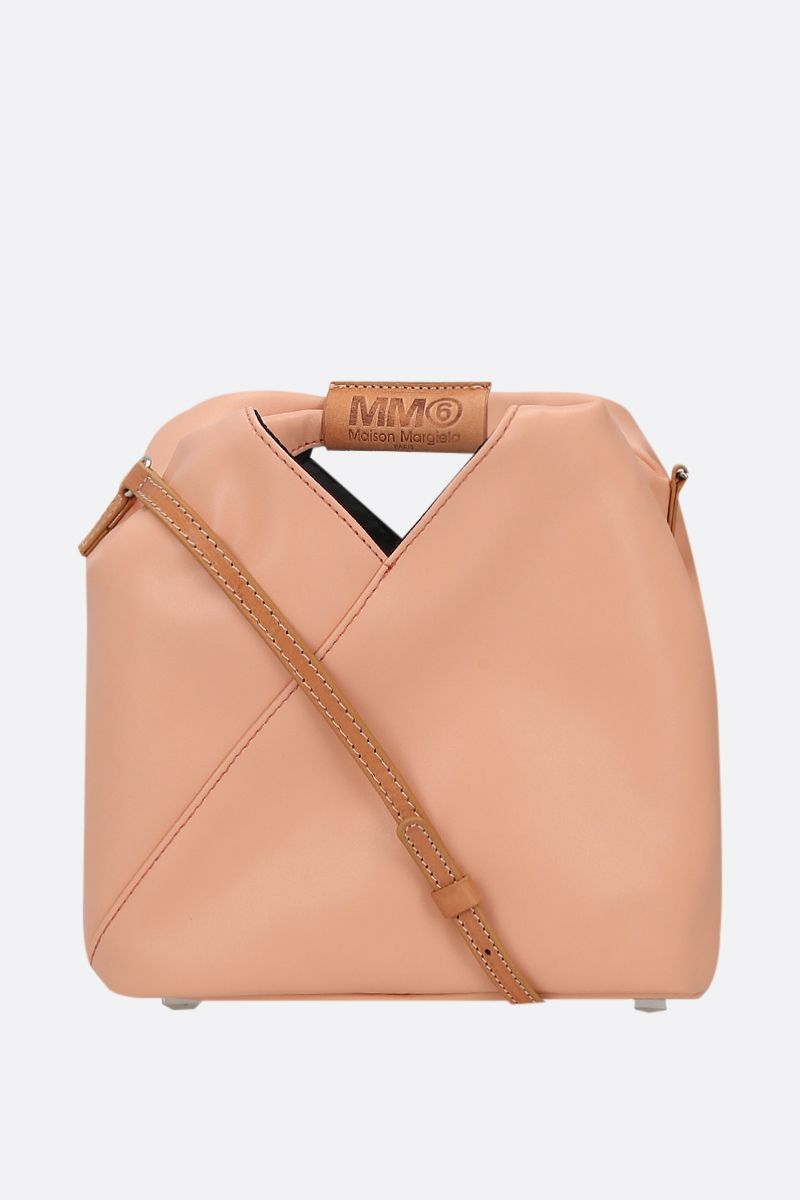 MM6: borsa a spalla Japanese in ecopelle Colore Pink_1