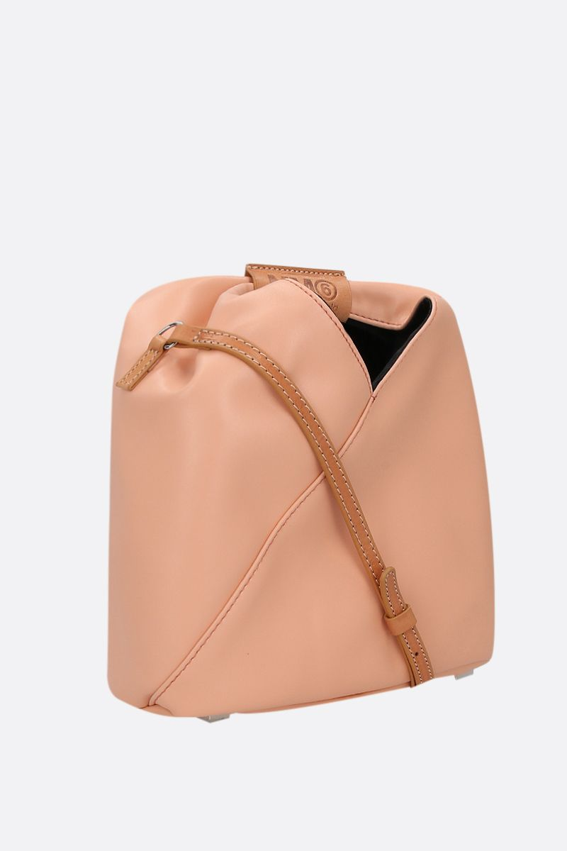 MM6: borsa a spalla Japanese in ecopelle Colore Pink_2