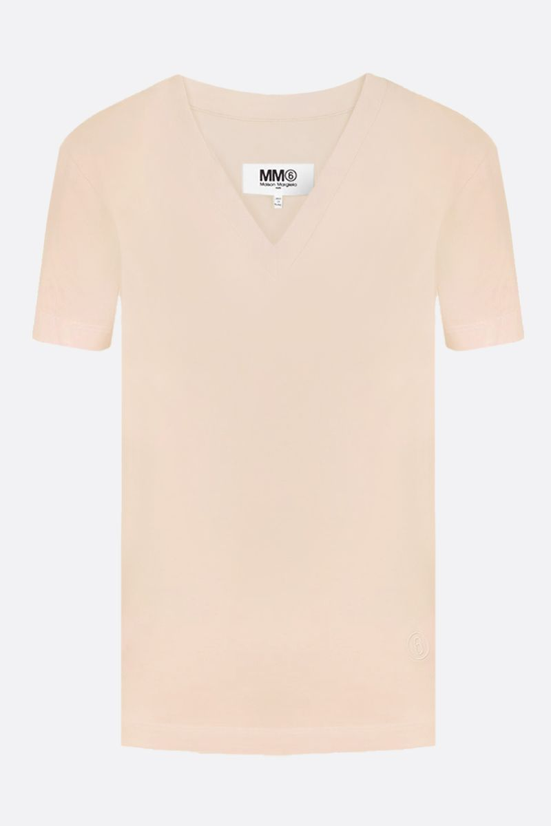 MM6: pack 3 t-shirt in jersey di cotone Colore Neutral_2