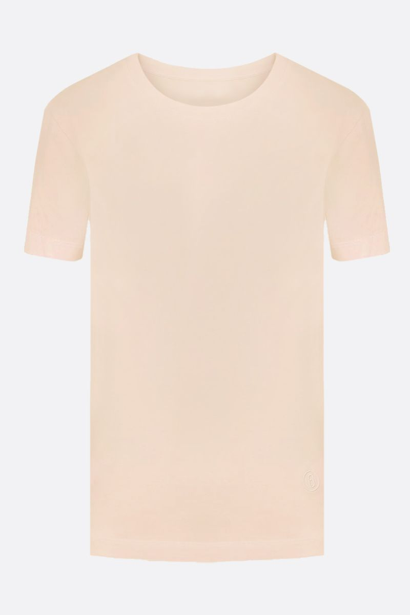MM6: pack 3 t-shirt in jersey di cotone Colore Neutral_4