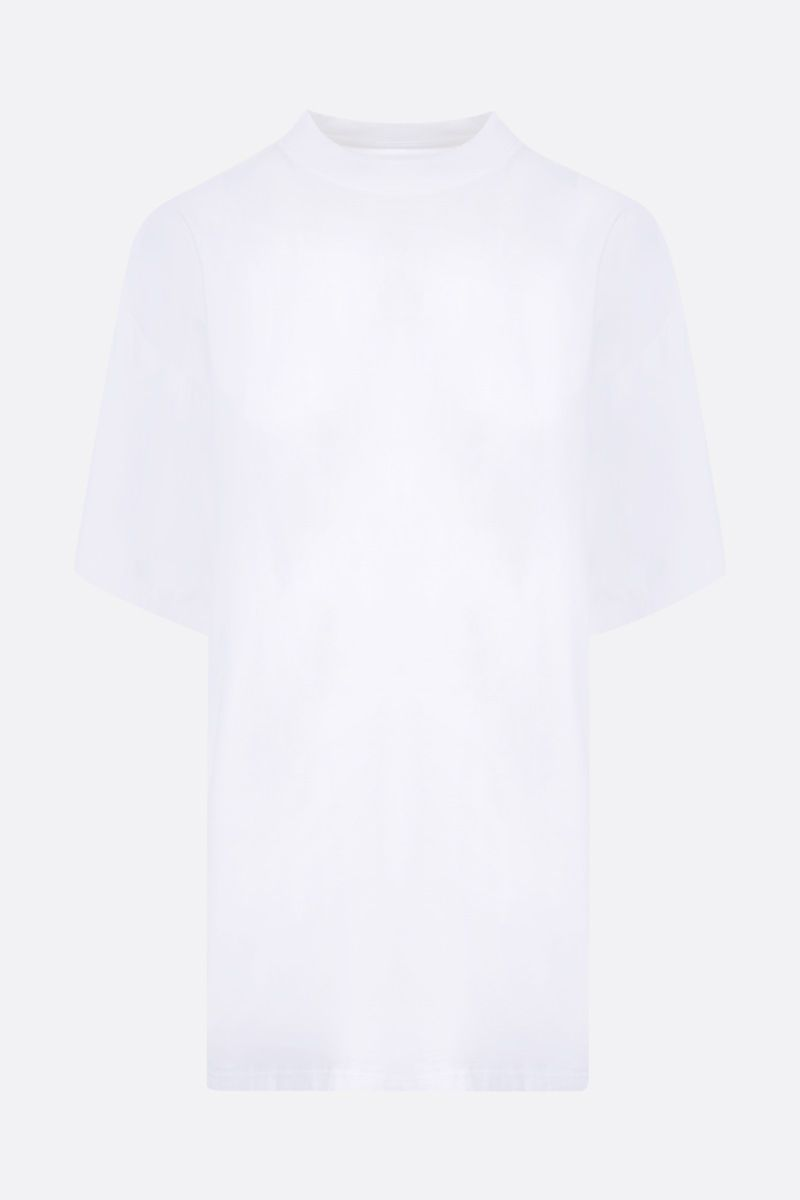 MM6: t-shirt oversize Reversed in cotone Colore White_2
