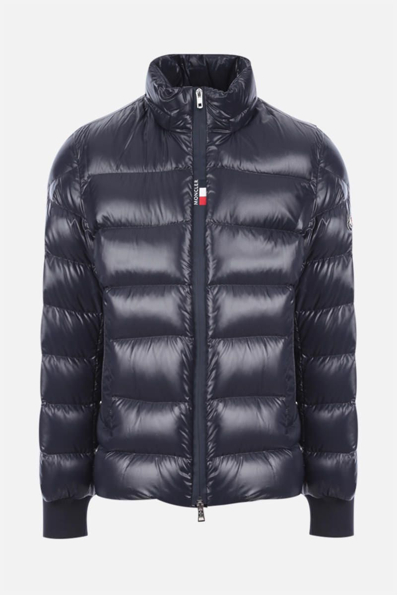 MONCLER: piumino Cuvellier in nylon Colore Blue_2