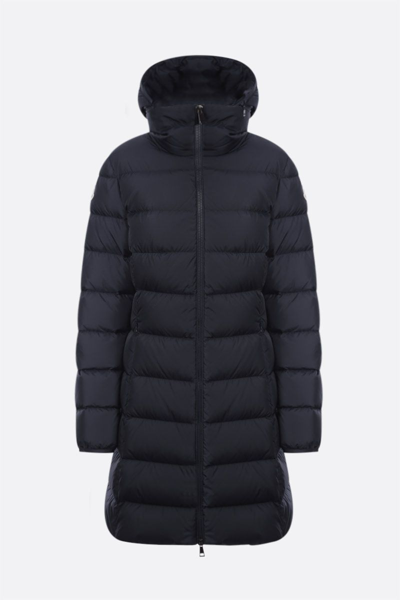 MONCLER: piumino Gie in nylon Colore Blue_1