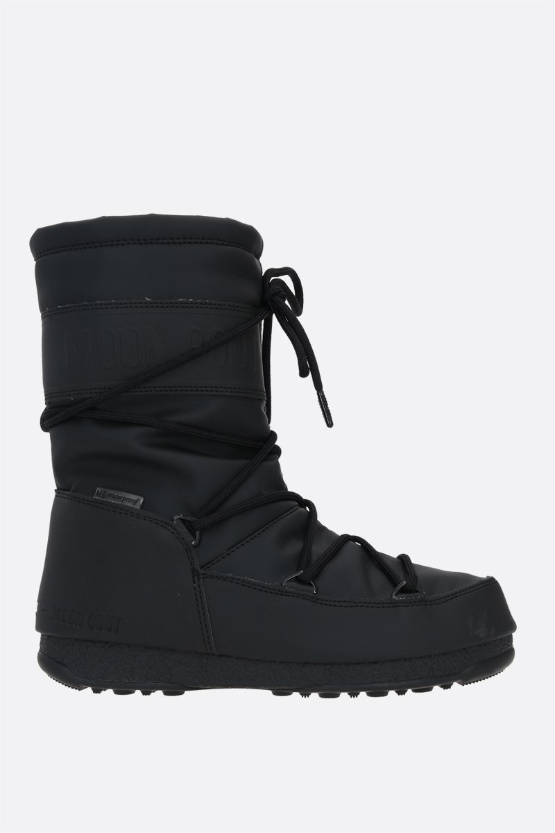 MOON BOOT: ProTECHt Mid technical fabric boots Color Black_1