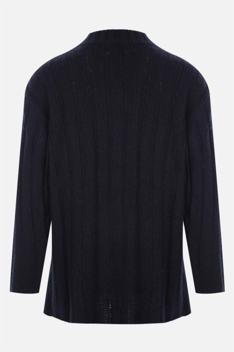 OUR LEGACY: pullover in misto lana Colore Blue_2