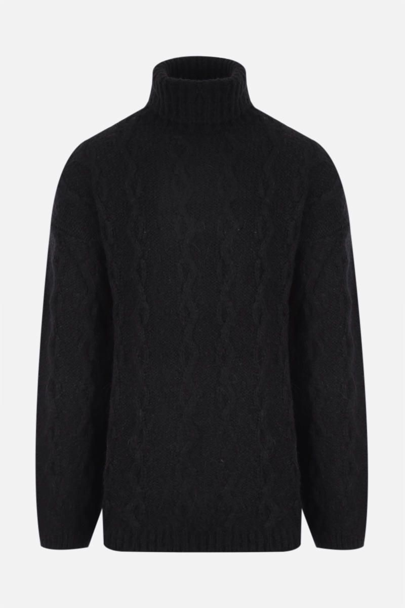 OUR LEGACY: pullover in misto lana Colore Black_1