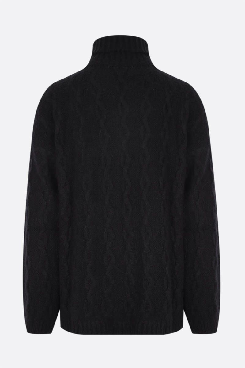 OUR LEGACY: pullover in misto lana Colore Black_2