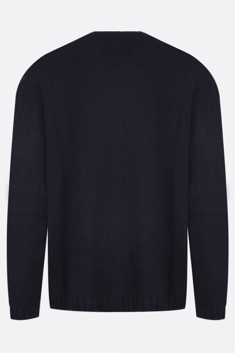 OUR LEGACY: pullover Lucky Clover in misto lana Colore Black_2