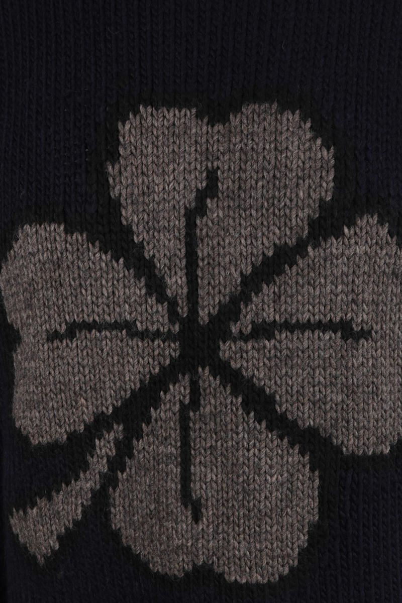 OUR LEGACY: pullover Lucky Clover in misto lana Colore Black_3