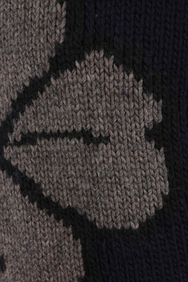OUR LEGACY: pullover Lucky Clover in misto lana Colore Black_4