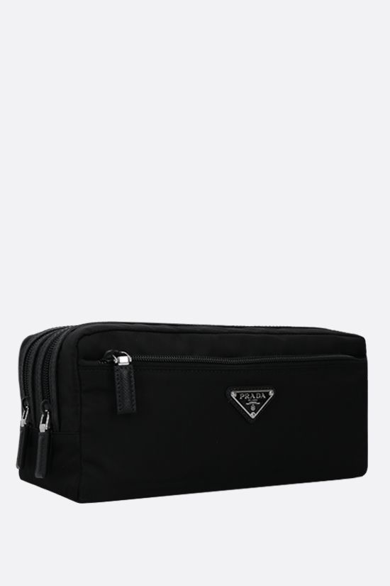 PRADA: beauty case in Re-Nylon Colore Nero_2