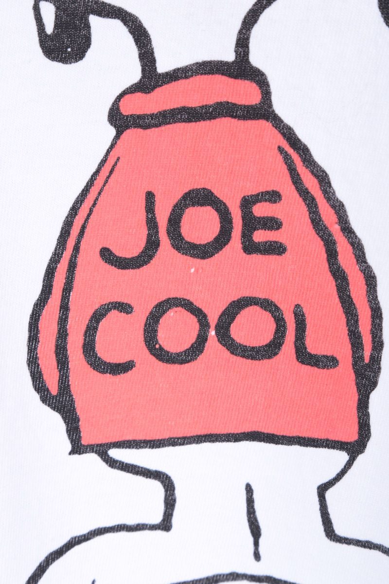 RE/DONE: t-shirt oversize 80s Joe Cool in jersey Colore White_3