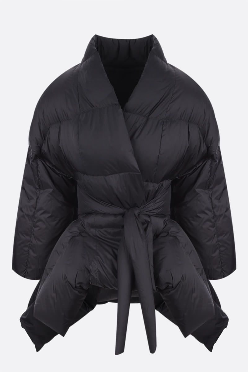 RICK OWENS: piumino Tommywing in nylon Colore Black_1
