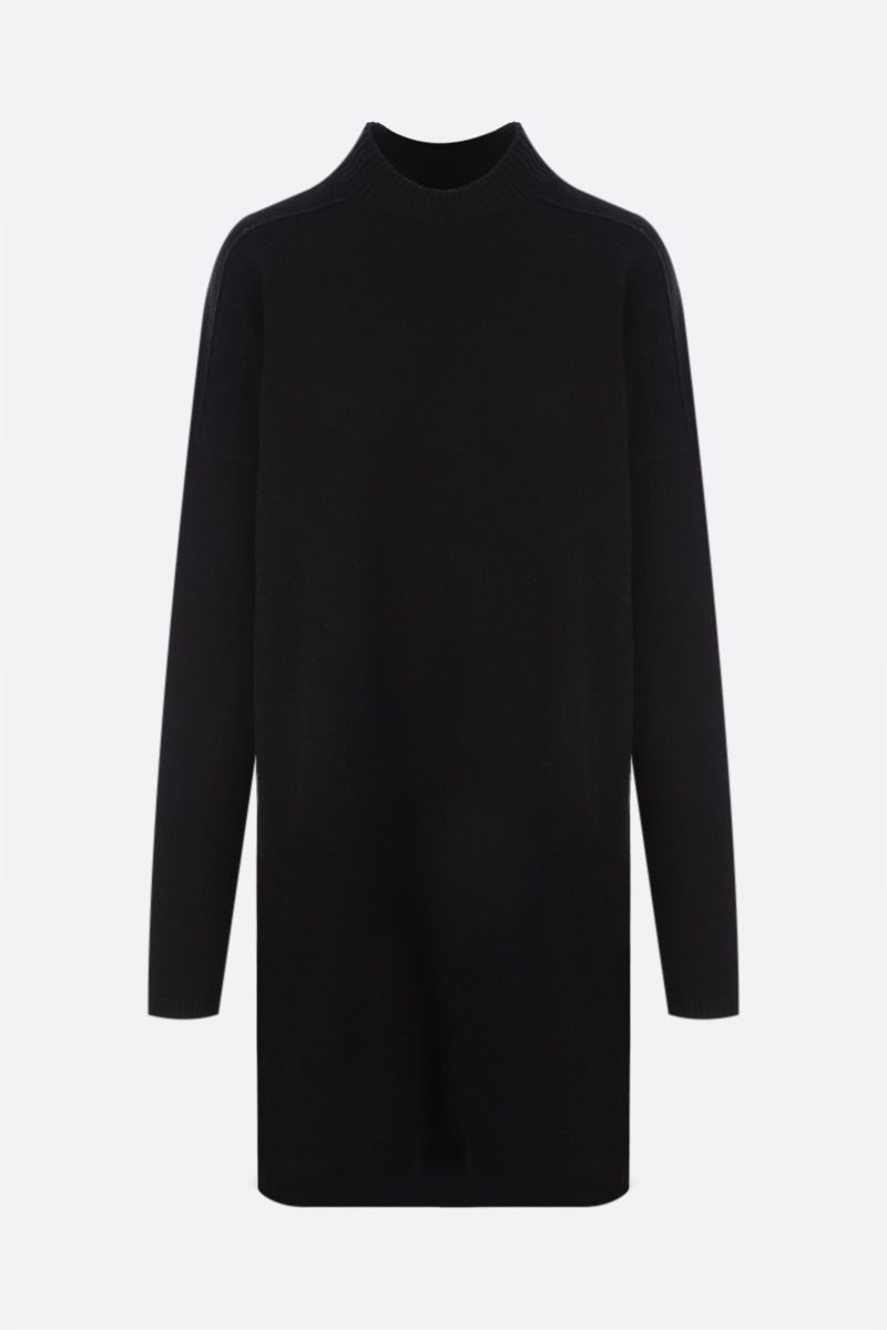 RICK OWENS: pullover oversize Tommy in cashmere e lana Colore Black_1