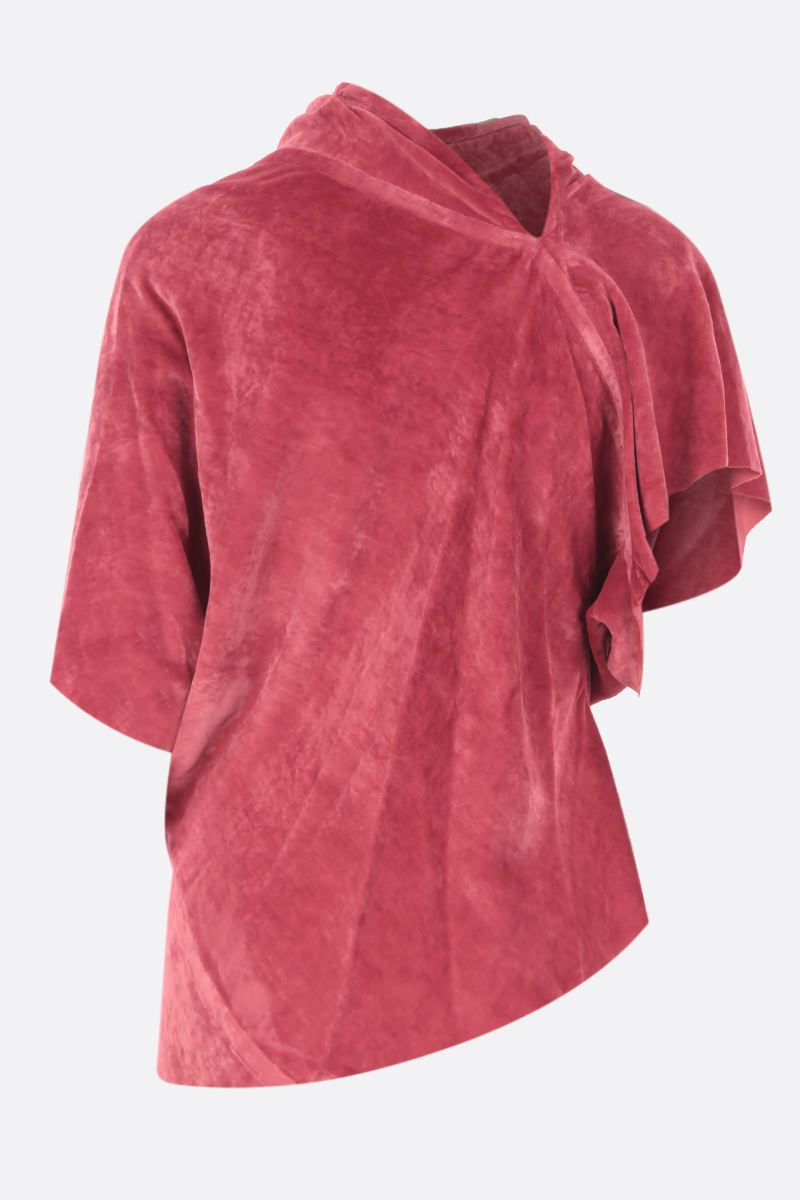 RICK OWENS: top Seb in velluto Colore Red_2
