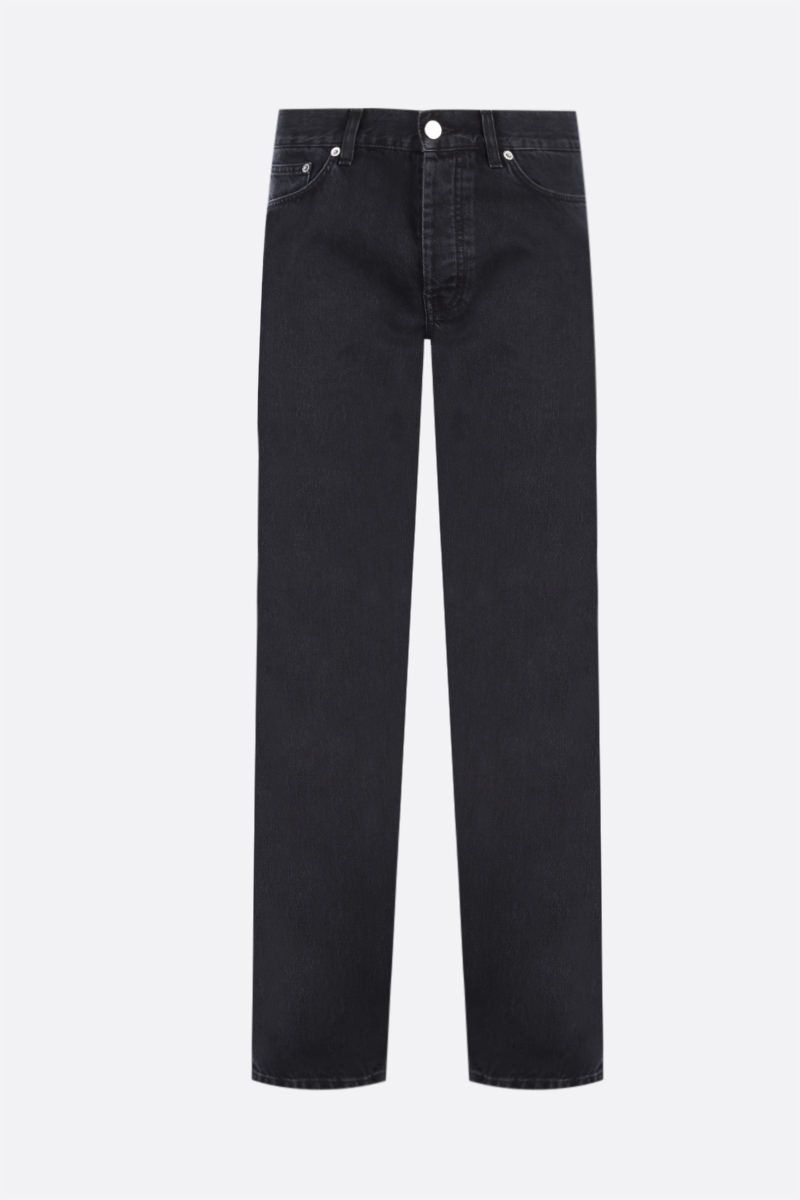 SUNFLOWER: jeans Straight Colore Black_1