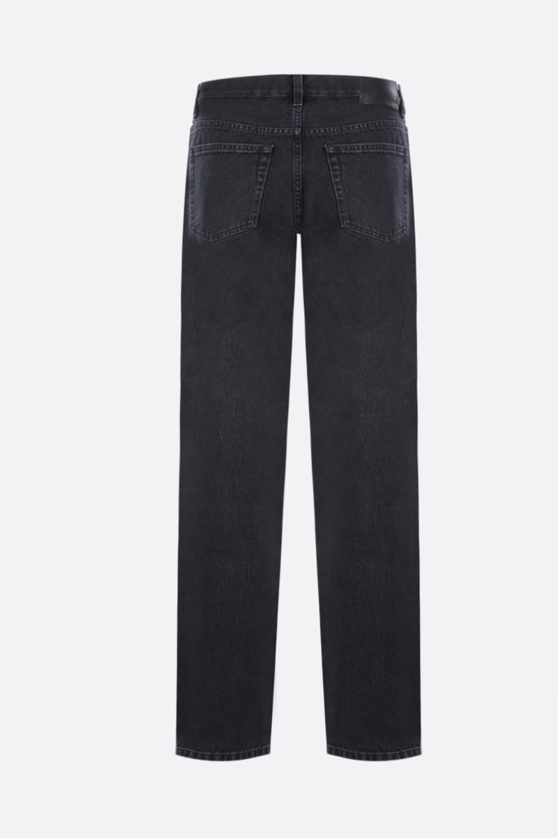 SUNFLOWER: jeans Straight Colore Black_2