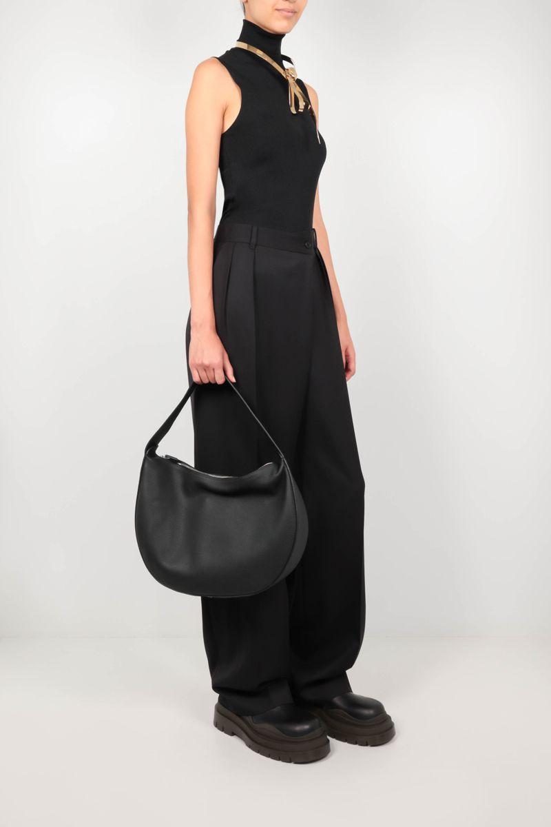 THE ROW: Willow wide-leg wool pants Color Black_2