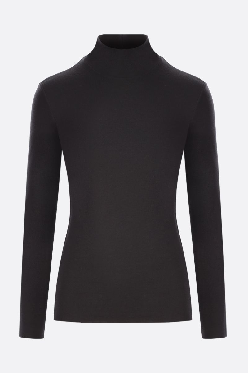 THE ROW: Dembe cashmere blend turtleneck Color Brown_1