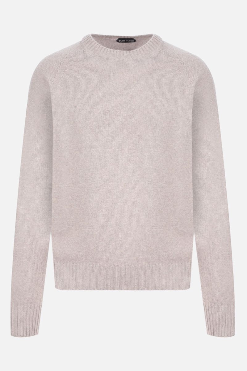 TOM FORD: cashmere cotton blend pullover Color Neutral_1