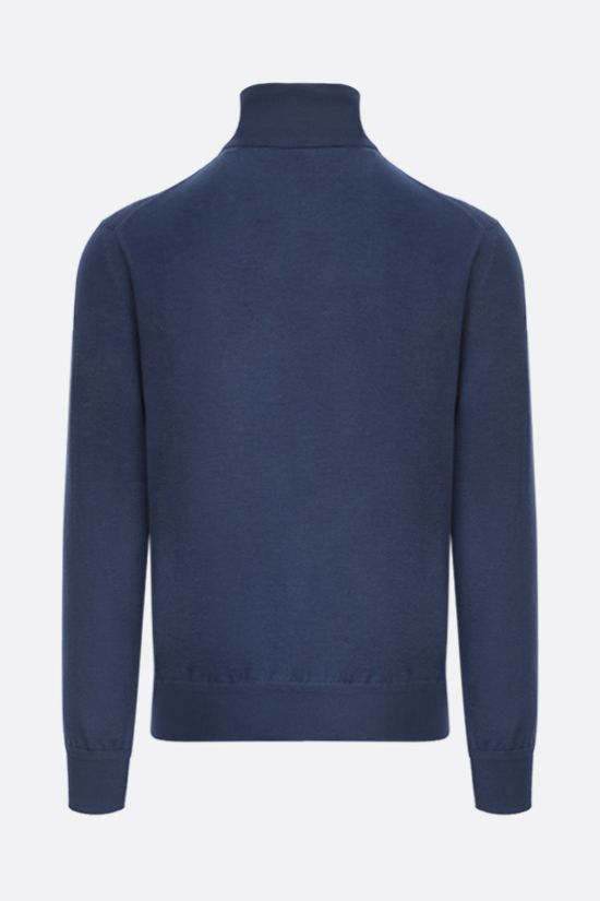 TOM FORD: silk cashmere blend pullover Color Blue_2
