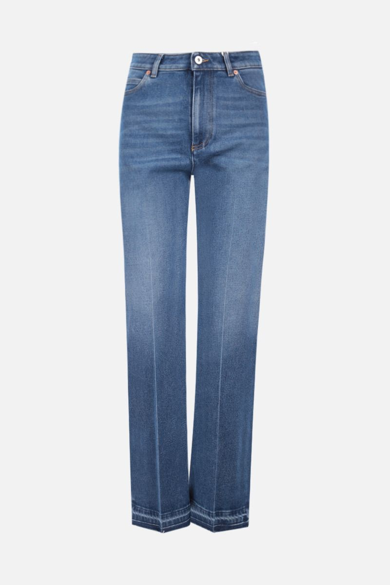 VALENTINO: flared jeans Color Blue_1
