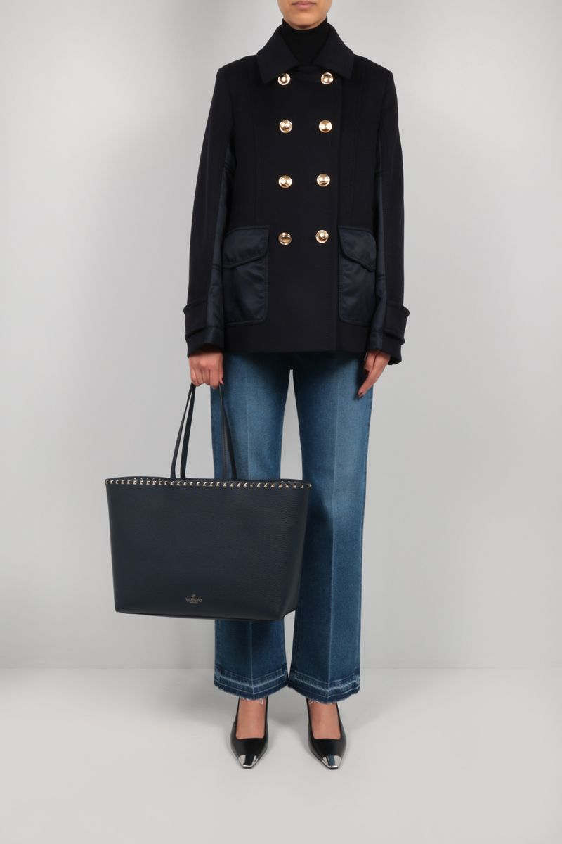 VALENTINO: flared jeans Color Blue_2