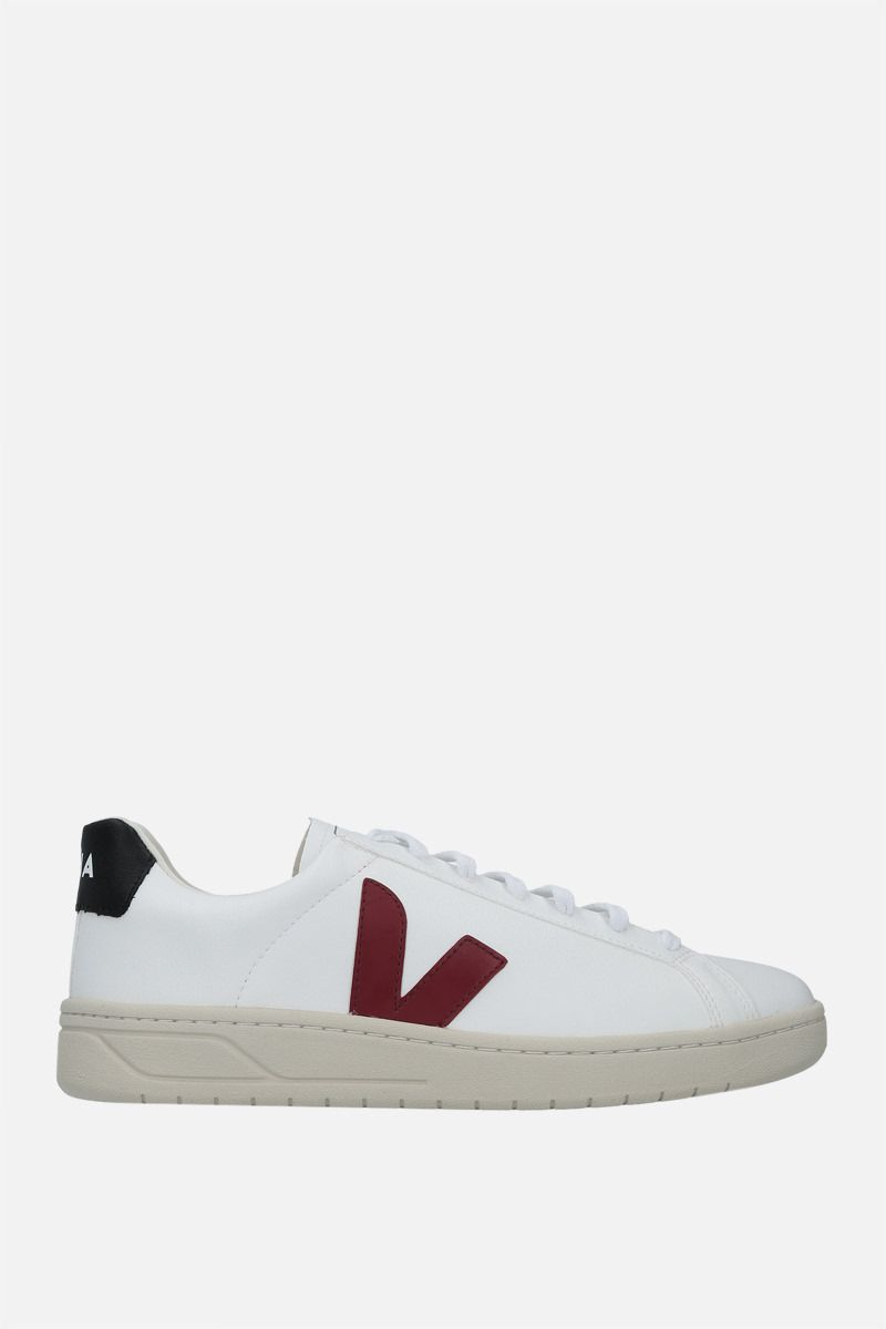 VEJA: Urca faux leather sneakers Color White_1